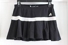 Adidas Clima365 Women's Black White Tennis Golf Skirt Skort Ruffle Sz Small