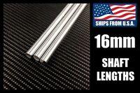16mm Linear Motion Shafts, Hard Chrome 400mm/500mm/600mm/800mm/1000mm Lengths