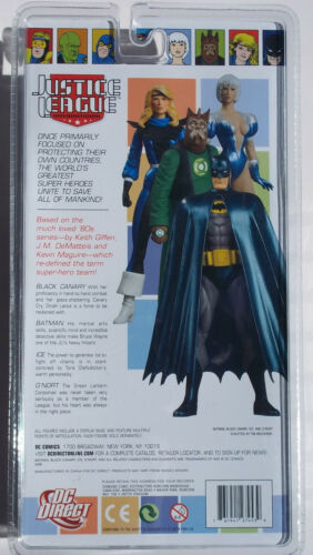 DC JUSTICE LEAGUE INTERNATIONAL BLACK CANARY SERIES 1 ACTION FIGURE NOC