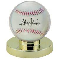 2 Baseball Ultra Clear Display Case Holder Gold Base Ultra Pro Regulation Size