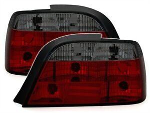 LUCES-TRASERAS-NEGRO-ROJO-CRISTAL-LOOK-M-BMW-SERIE-7-E38-730il-730d-740d-750i