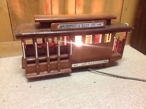 Vintage-Wooden-Trolley-Lamp-Handmade-Powell-amp-Mason-STS-San-Fransisco