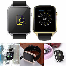 Waterproof Silver GT88 NFC Bluetooth Smart Watch Phone Mate For iphone Android