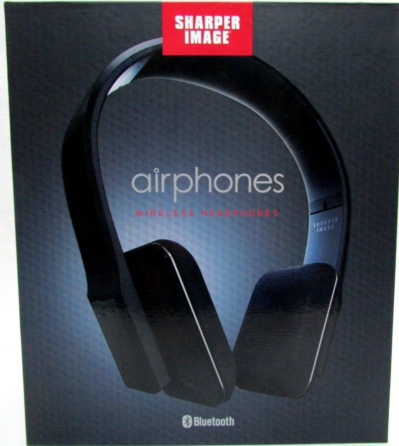 Sharper Image Sbt556bk Premium Hd Bluetooth Headphones With Built In