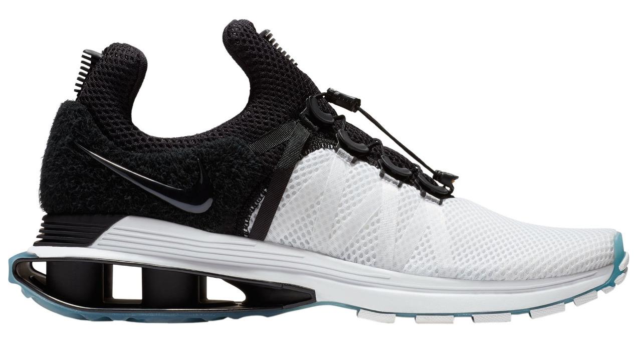 Nike Shox Gravity White-Black Men's Running Sneakers 12 Price reduction