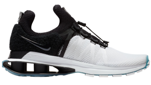 Nike Shox Gravity White-Black Men's (New) Running Sneakers 8.5 (New) Men's 73aac5