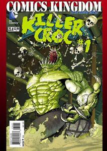 Details About Batman Robin 234 Villains Month 3D Lenticular Cover Killer Croc NM