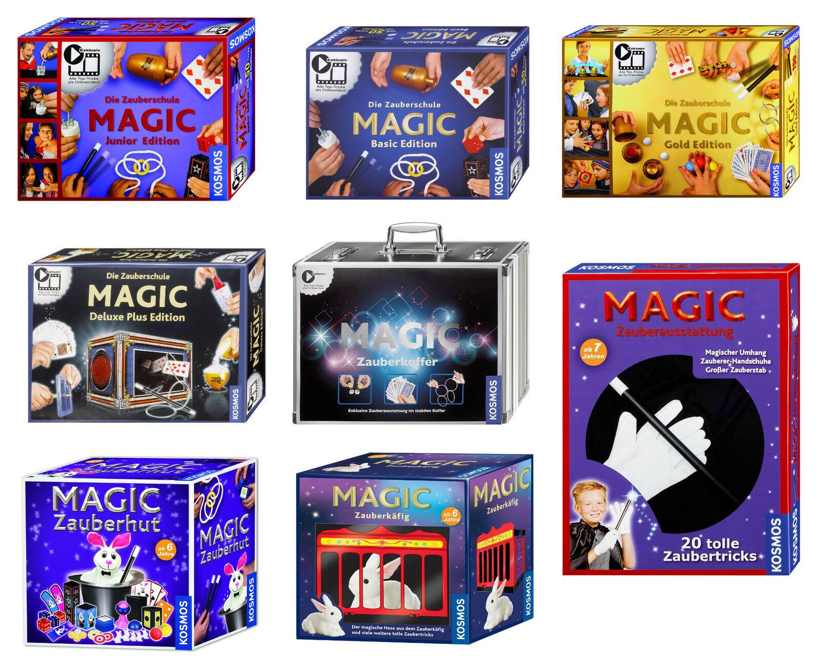 Kosmos Zaubern Magic Zauberhut Zauberkoffer Zauberkäfig Zauberkasten Basic Gold  | Haben Wir Lob Von Kunden Gewonnen