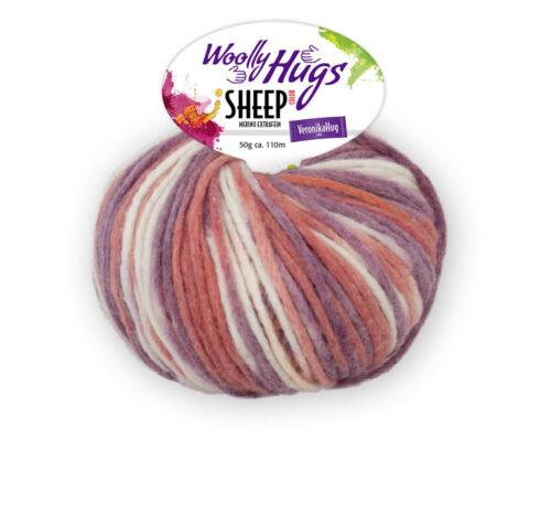 Woolly Hugs Sheep color merino extra fino color 50g 82