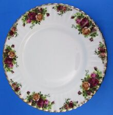 "Vintage Royal Albert Old Country Roses Bread Dessert Plate (s) 6-1/4"" England"