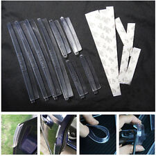 8x Car SUV Pickup Soft Door Protector Edge Guard Anti-scratch Rub Strips Bumper