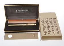 Sheaffer Targa 1005 vintage gold fluted Big Size fountain pen new old stock