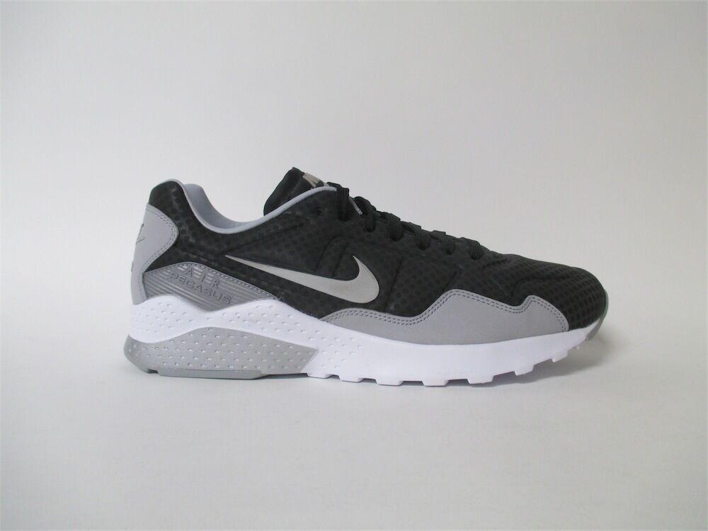 Nike Pegasus 92 Oremium Black Silver Grey White Sz 9 844654-003
