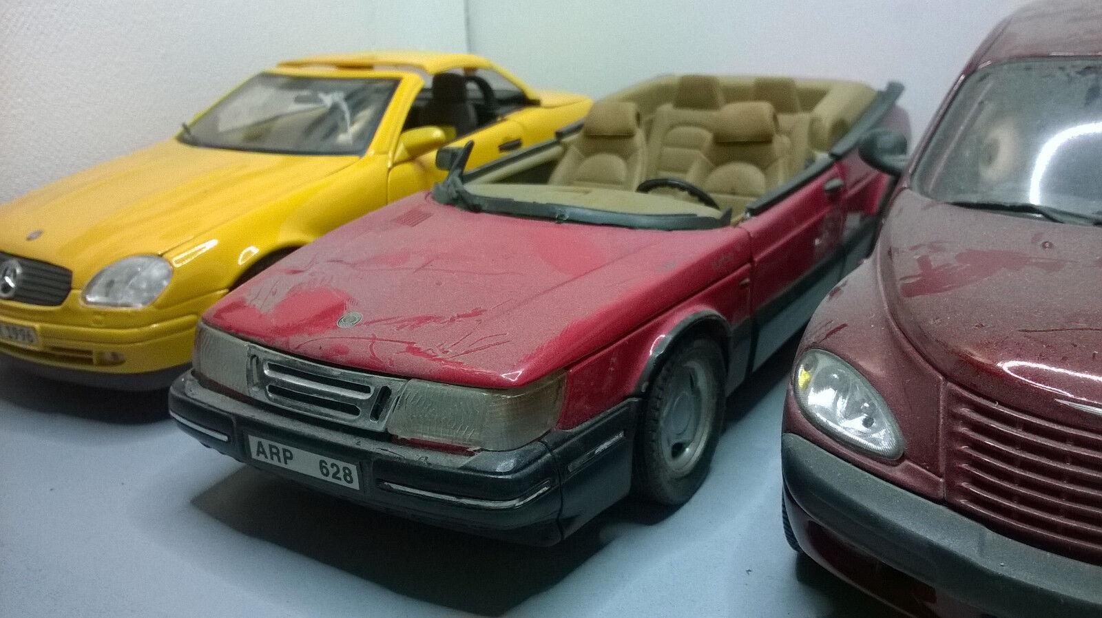 1 18 Pièces détachés Saab 900 Turbo Anson