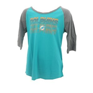 online store 1b0ea 64bd5 Miami Dolphins Official NFL Apparel Kids Youth Girls Size ...