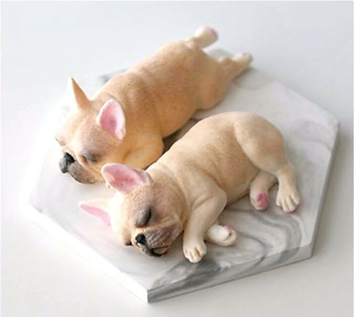 Sugarcraft Molds Polymer Clay Molds Cake Decorating Tools  French Bulldog MOLD09