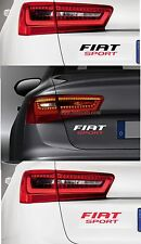 For FIAT 'FIAT SPORT' -  CAR DECAL STICKER ADHESIVE - BRAVO PUNTO  -  220 x 50mm