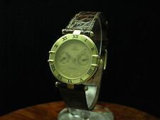Omega Constellation 18kt 750 Gold day-date reloj Hombre/ref 196.1070