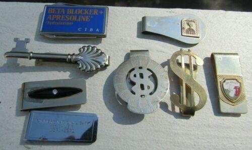 Vintage Dollar sign onyx Advertise with knife key