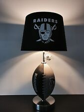 Imperial nfl pub table oakland raiders ebay item 3 oakland raiders football table lamp nfl lamp man cave decor oakland raiders football table lamp nfl lamp man cave decor watchthetrailerfo