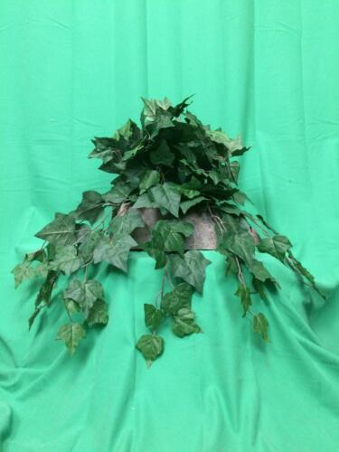 Artificial Ivy Tropical Silk Plant Arrangement with Sm Rock Planter