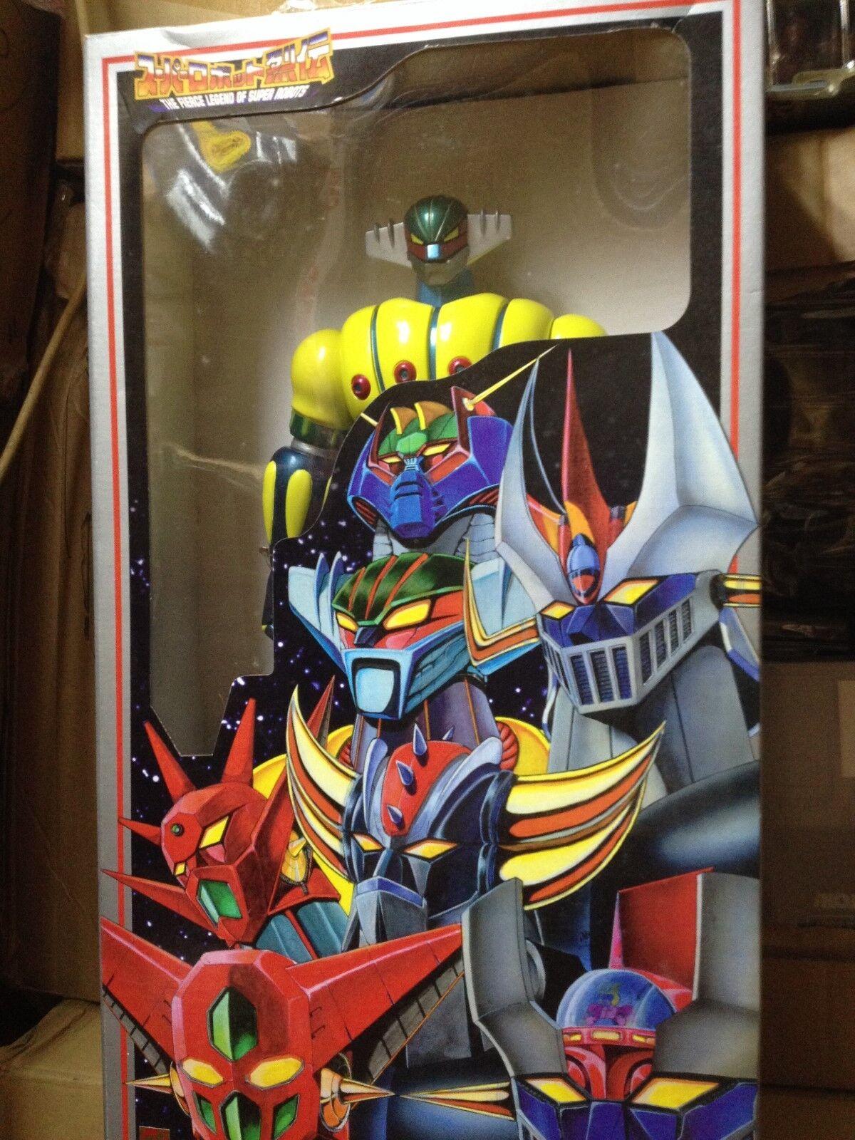 Kotetsu Steel JEEG ROBOT 15 TO 16 inch first Colour VERSION Marmit Vintage