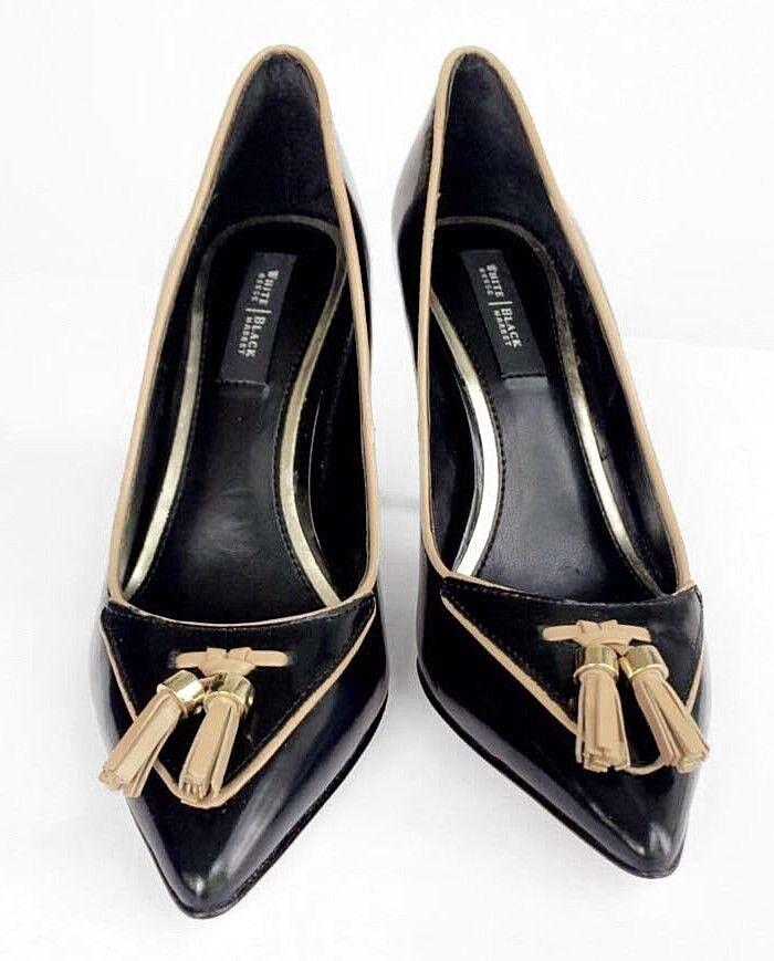 White House Black Market Penni Tassel Tailored Stilettos Pumps 6.5