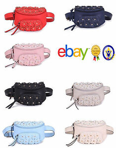 Ladies Girls Small Floral daisy bum bag waist hip bag womens Outer ...