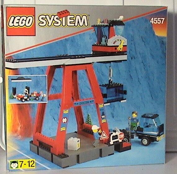 Lego Zug 9V 4557 Fracht Ladung Station Neu Ovp