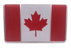 Sticker-Aufkleber-Auf-Kleber-3D-Flagge-Emblem-Kanada-Auto-Metall-selbstklebend