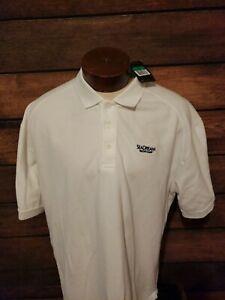 Nike-Dri-Fit-Mens-XL-Extra-Large-White-Short-Sleeve-Golf-Polo-Shirt-New