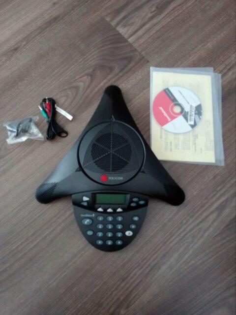 Conference Phone Polycom Soundstation 2 2201-16200-601 -gebraucht