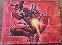 Deadpool Comic Wallet Bi Fold Us Seller Wade Wilson Cosplay Comiccon Cool Gift