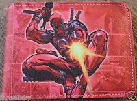 Deadpool Comic Wallet Bi Fold Us Seller Wade Wilson Cosplay Comiccon Cool Gift