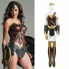 2016 Batman v Superman Wonder Woman Diana Prince Cosplay Costume Custom Adult