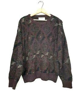 Jantzen-Mens-Size-L-Canada-Vintage-Cosby-90-039-s-Dad-Multi-Color-Pullover-Sweater