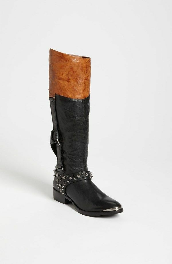 Sam Edelman Park Boot Women BLACK Size 6
