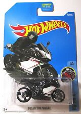2016 HOT WHEELS Black DUCATI Superleggera motorcycle  187/365 MOC!