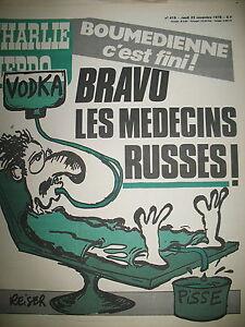 CHARLIE-HEBDO-N-419-BRAVO-LES-MEDECINS-RUSSES-DESSIN-SATIRIQUE-COUV-REISER-1978