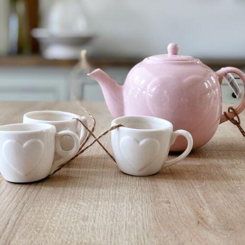 Vintage Style Ceramic Teapot /& Teacup Hanging Indoor Outdoor Garden Wind chime