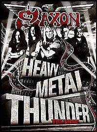 Saxon - Heavy Metal Thunder... The Movie (DVD, 2010) (L4)