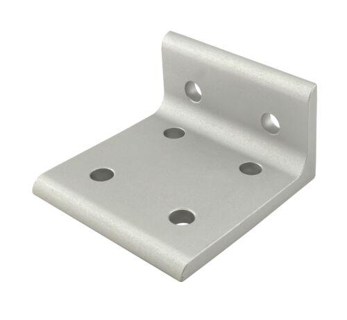 80//20 Inc T-Slot Aluminum 6 Hole Wide Inside Bracket 15 Series #4375 N