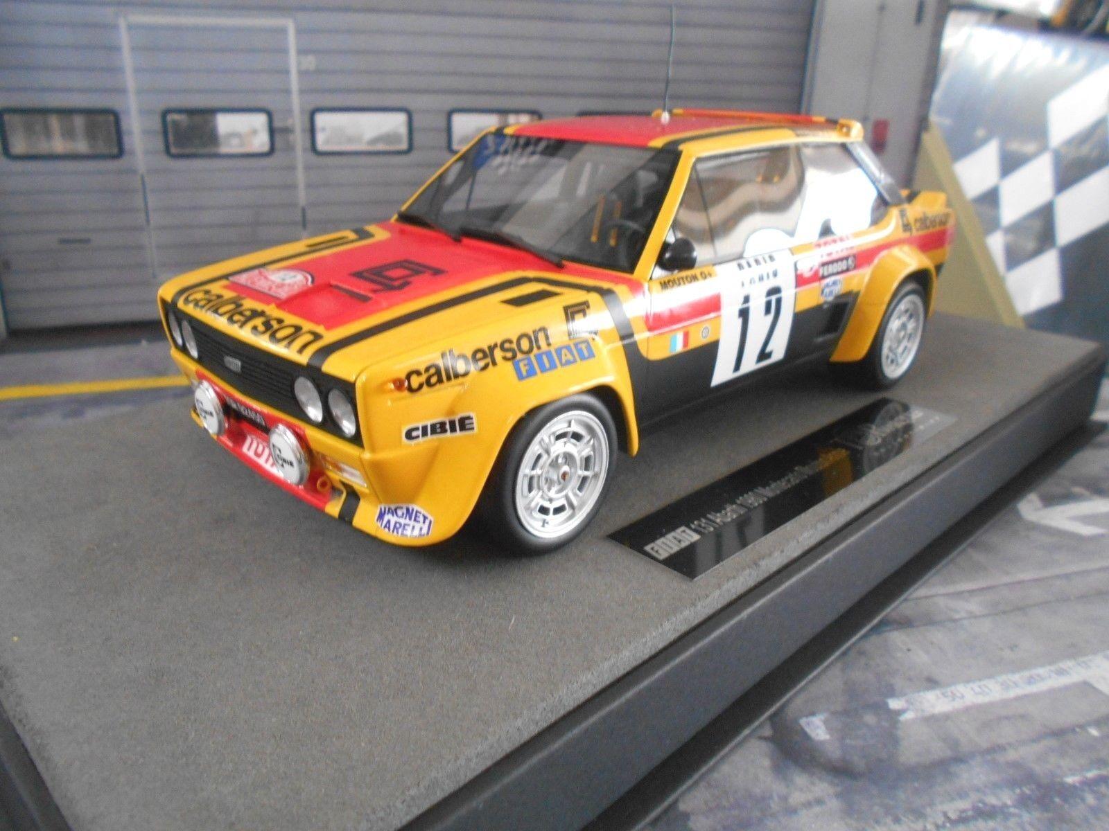 FIAT 131 Abarth Rallye Monte Carlo 1980  12 Mouton Calberson Top Marques 1 18  | Sale Düsseldorf