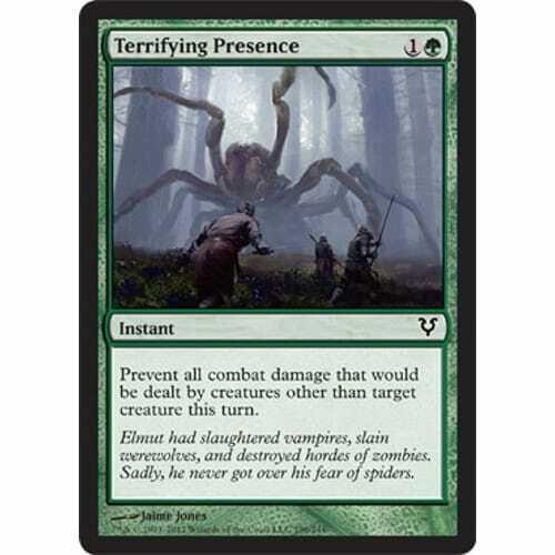 Terrifying Presence MTG AVACYN RESTORED