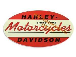 VINTAGE-HARLEY-DAVIDSON-STICKER-DECAL-LARGE-240-mm-OVAL-DESIGN