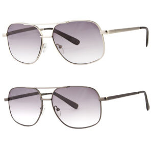 Image is loading Aviator-Frame-Full-Lenses-Magnified-Tinted-Reading -Sunglasses- a1a42071c3