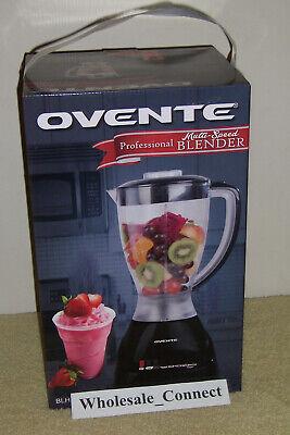 New Ovente Professional Multi Speed Blender Blh1012b 400w Powerful Ebay
