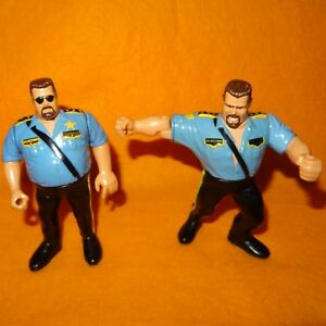 Details About Vintage 1990 1992 90s Hasbro Wwf Wrestling Series 1 3 Big Boss Man Figure Lot