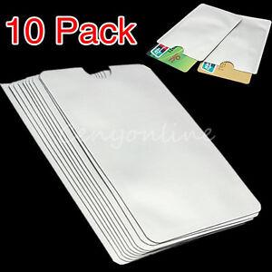10tlg-Schutzhuelle-EC-Kartenhuelle-Bankkartenhuelle-Huelle-Fuer-RFID-ID-Kreditkarte