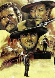 THE-GOOD-THE-BAD-AND-THE-UGLY-Movie-PHOTO-Print-POSTER-Clint-Eastwood-Film-004